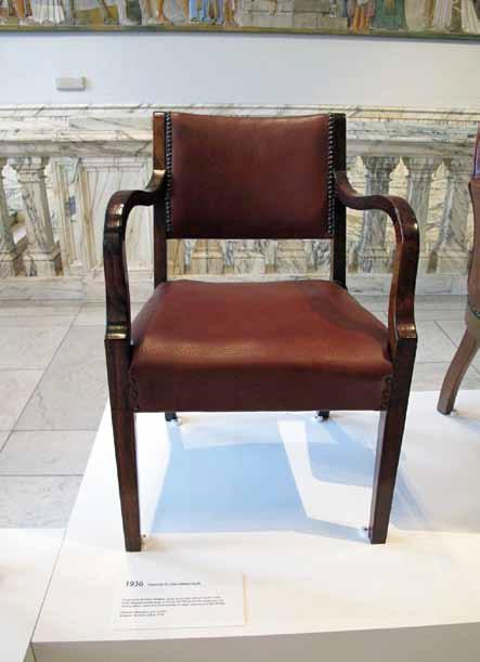 13-2. 博德利图书馆新馆座椅,giles gib ert scott 爵士设计,1936