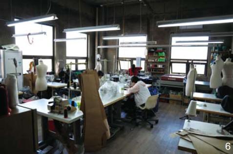 大牌服装工作室 服装工作室装修风格 私人定制服装工作室