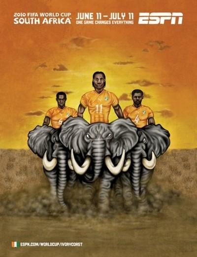 [转载]2010南非世界杯32强海报